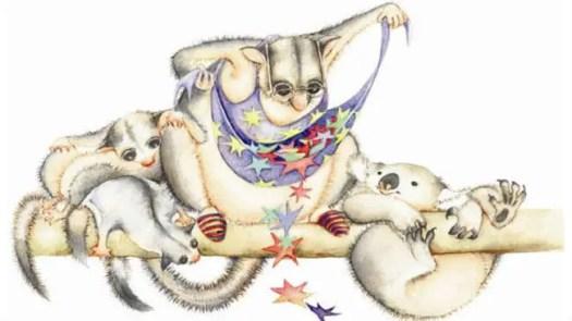 possum magic apron and stars