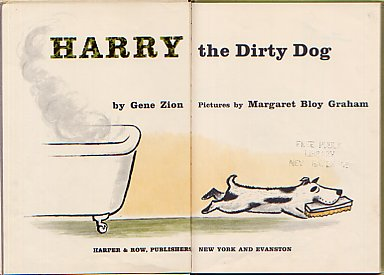HarrytheDirtyDog Front Papers