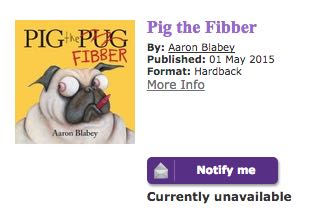 Pig the Fibber Unavailable