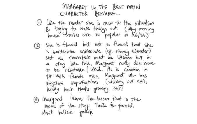 Margaret Best Character Because