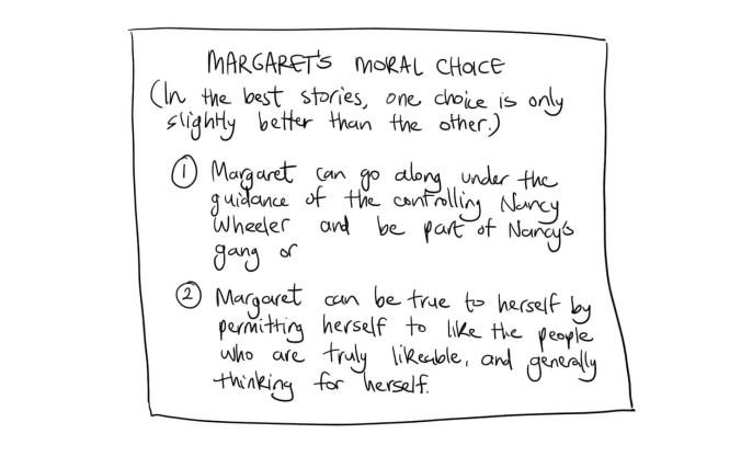 Margaret's Moral Choice