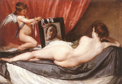 Venus With A Mirror by Titian