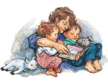 alfie's mother reading