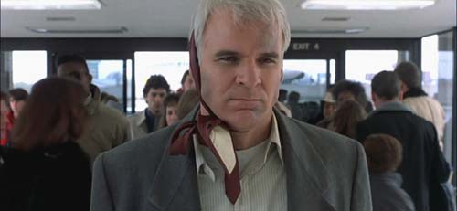 Planes Trains Automobiles Steve Martin angry