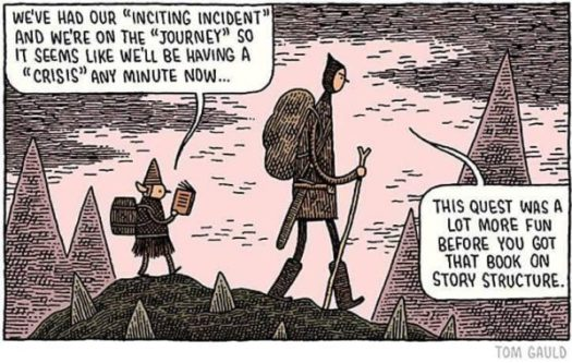 Tom Gauld Story Structure