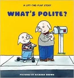What's Polite board book