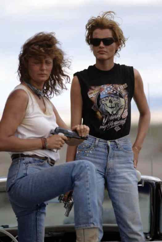thelma louise cowboy gangsters