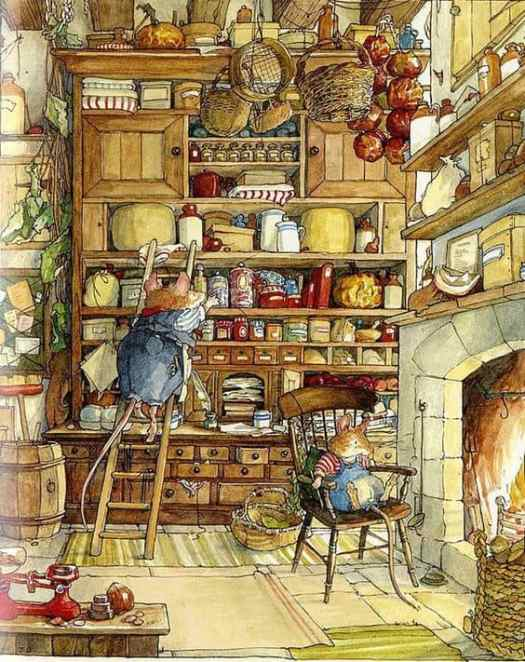 Jill Barclem Brambly Hedge
