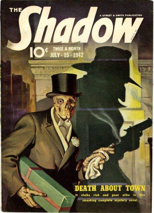 The Shadow magazine cover