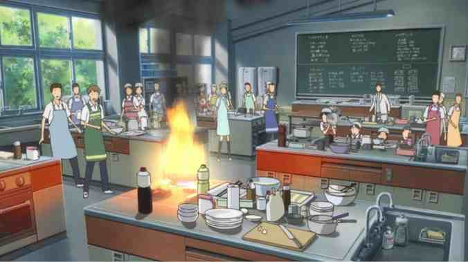 The first fire in The Girl Who Leapt Through Time
