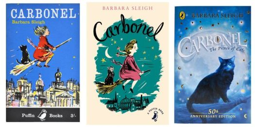 Carbonel Barbara Sleigh book covers