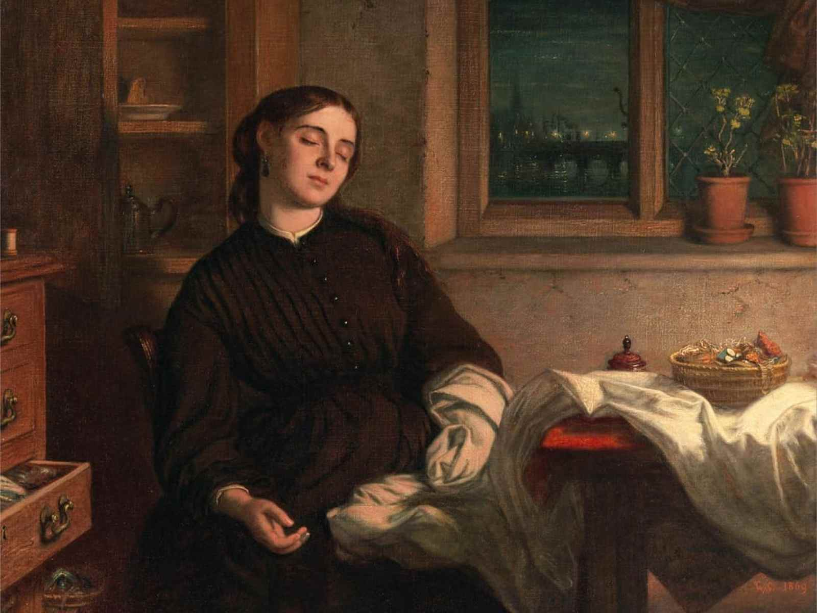 Charles West Cope - Home Dreams 1869