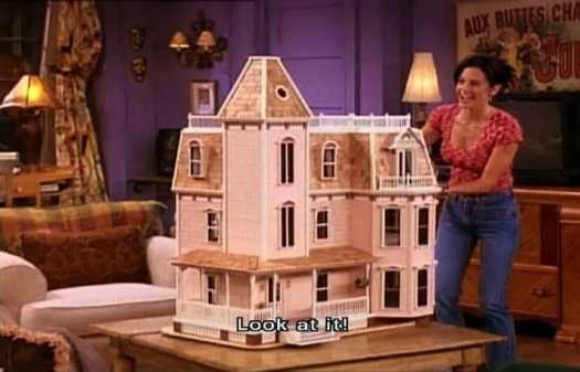 Monica's doll house