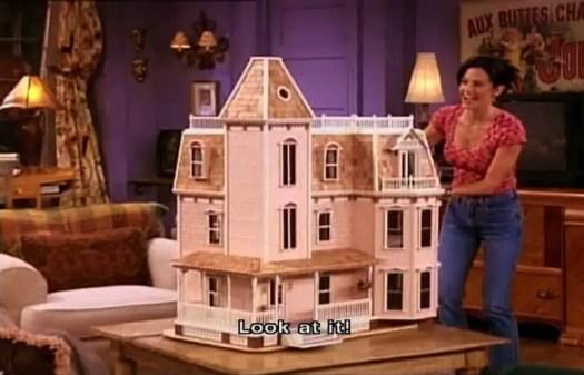 Monica's doll house