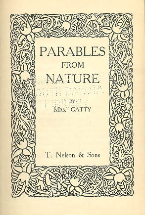 Parables From Nature title page