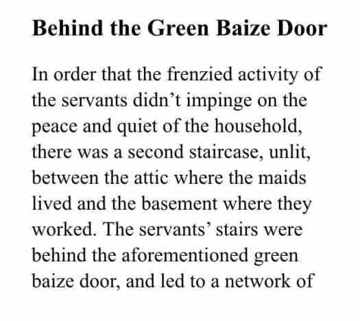 Behind The Baize Door01