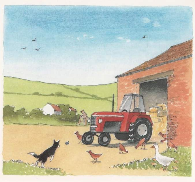 The Day Patch Stood Guard farm scene
