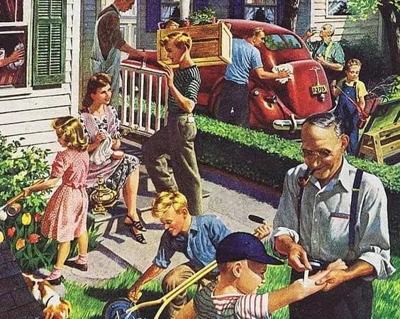 suburban happenings