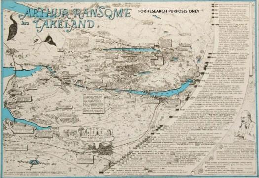 Arthur Ransome In Lakeland