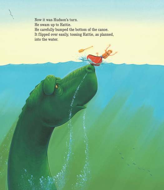 Interior page from Hattie & Ocean scene from Hudson Chris Van Dusen