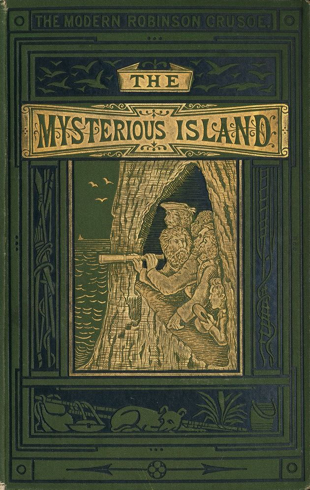 The Mysterious Island book cover