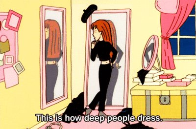 This is how deep people dress