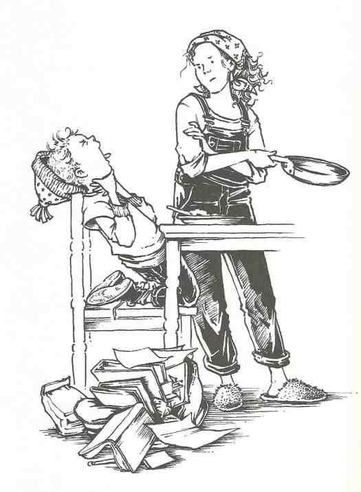 Clementine and mother