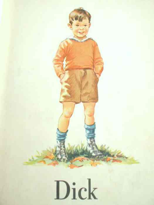 Dick from the Dick and Jane series, 1940
