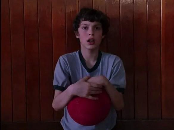 Sam wins dodgeball