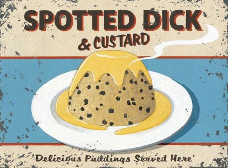 Spotted Dick And Custard