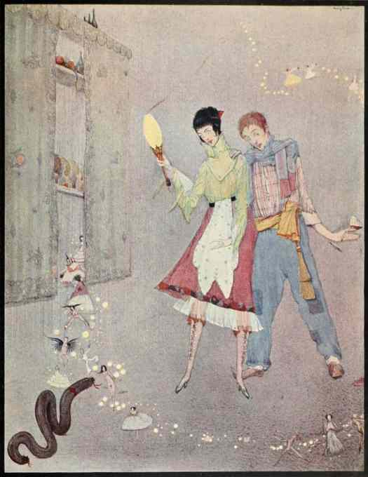 The Foolish Wishes illustration_from_Fairy_tales_of_Charles_Perrault_(Clarke,_1922)
