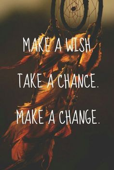 make a wish take a chance
