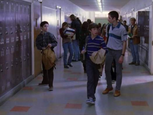 a walk down the school corridor is like running the gauntlet