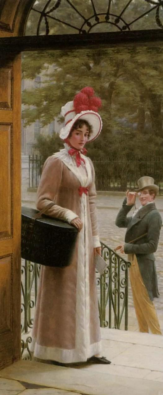 Edmund Blair Leighton - A Source of Admiration