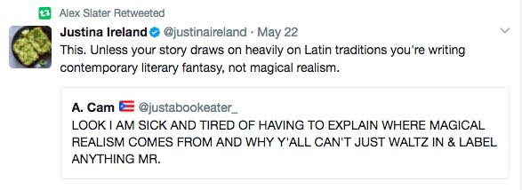 fabulism does not equal magical realism