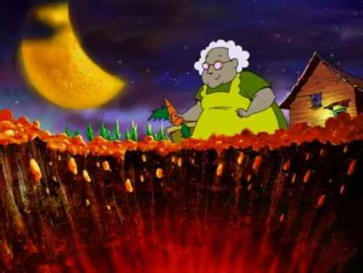 muriel-gardening-at-night