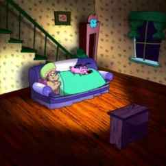 Www Cheap Sofa Beds Camas Easy The Demon In Mattress Courage Cowardly Dog: - Slap ...