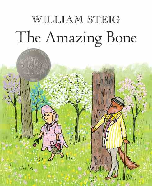 The Amazing Bone William Steig book cover