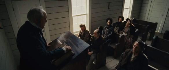 The Homesman church meeting