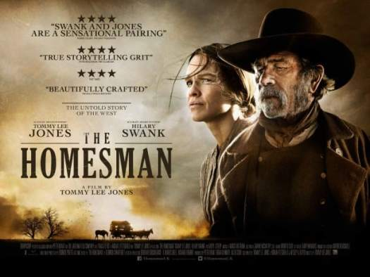 The Homesman has similarities to People In Hell Just Want A Drink Of Water