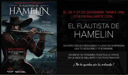The Pied Piper of Hamelin play El Flautista de Hamelin