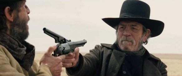The Homesman gun duel