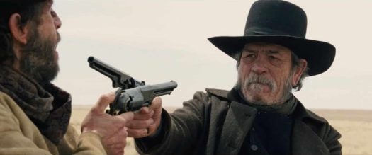 The Homesman gun duel