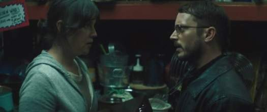 I Don't Feel At Home In This World Anymore cafe scene