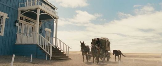 The Homesman blue hotel
