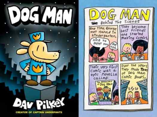 Dog Man includes commentary on psychotropic drugs