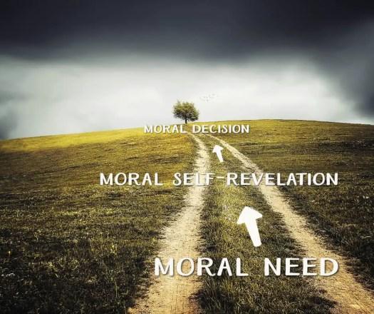 moral line storytelling