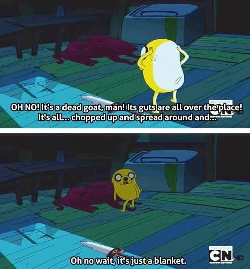 adventure time humour