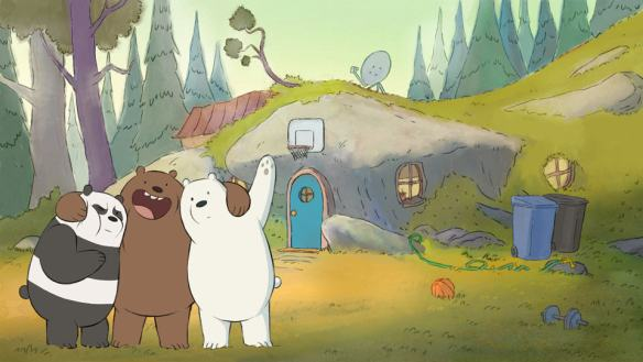 We Bare Bears cave house