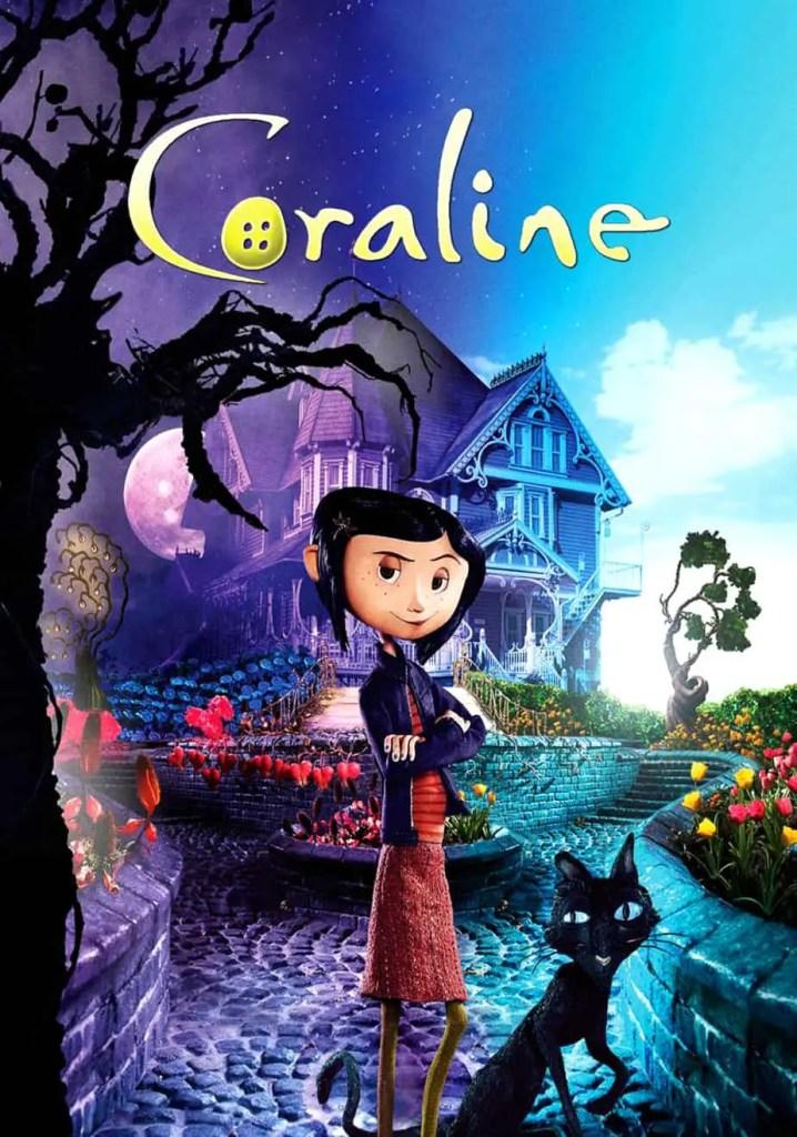 Coraline movie poster - Slap Happy Larry
